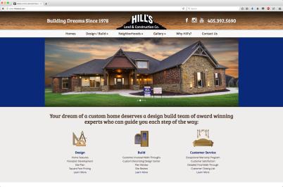 bowden creative real estate photography website